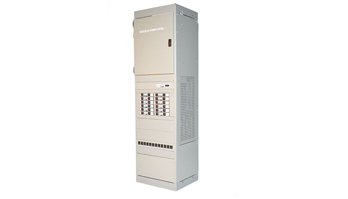 1200 amp front access dc power system