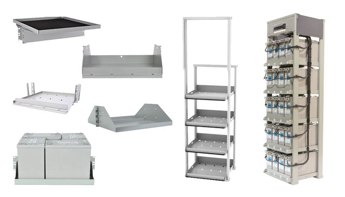 battery trays & battery racks