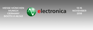 UNIPOWER to exhibit at Electronica 2018