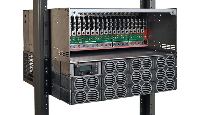600 amp dc power system