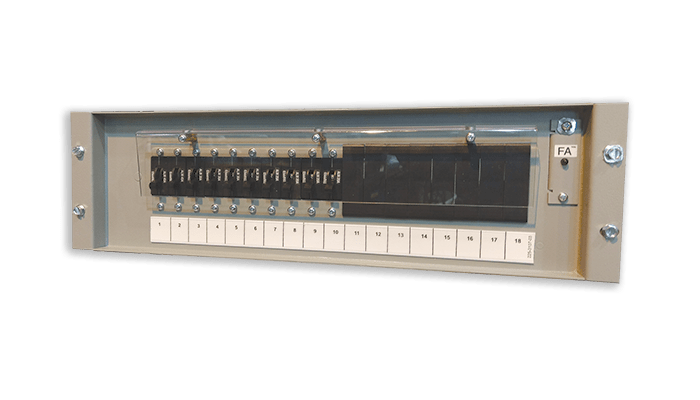 3u dc breaker panel